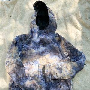 Burton hillside jacket in no mans land print